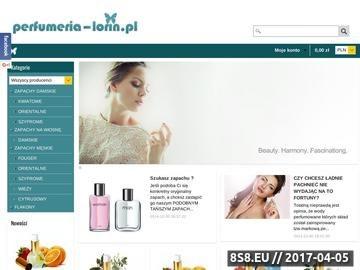Zrzut strony Perfumeria - Perfumy nalewane