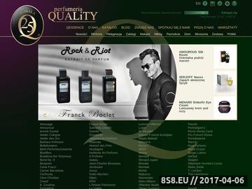 Zrzut strony Ekskluzywne i najlepsze perfumy