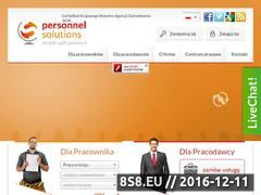Miniaturka domeny personnelsolutions.pl