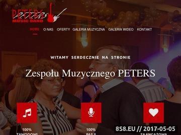 Zrzut strony Zespół Muzyczny PETERS
