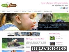 Thumbnail of Pets4home.cz - domov psu a kocek Website