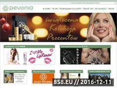 Miniaturka domeny www.pevonia.pl