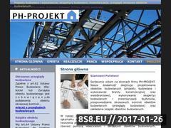 Miniaturka domeny www.ph-projekt.pl