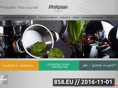 Miniaturka domeny philipiaknaczynia.pl