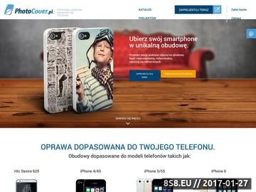Zrzut strony Etui na iPhone