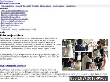 Zrzut strony Photomodern.pl