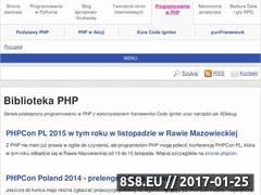 Miniaturka domeny www.php.rk.edu.pl
