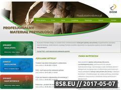 Miniaturka domeny www.piankanatryskowa.pl