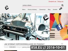 Miniaturka domeny pianostore.pl