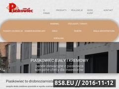 Miniaturka domeny www.piaskowiec.com.pl