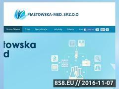 Miniaturka domeny www.piastowska-med.pl