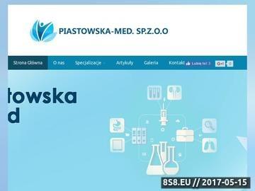 Zrzut strony Stomatolog - Piastowska-Med