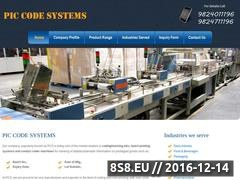 Thumbnail of Coding machine manufacturer in India Website