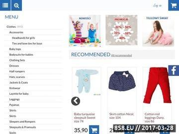 Zrzut strony Piccolino - ciuszki dla dzieci i niemowląt