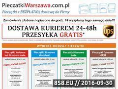 Miniaturka domeny pieczatkiwarszawa.com.pl
