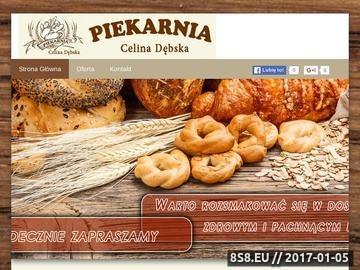 Zrzut strony Piekarnia - pieczywo
