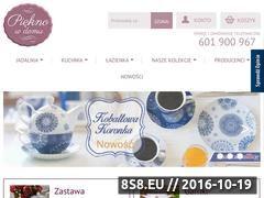 Miniaturka domeny www.pieknowdomu.pl