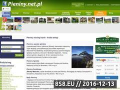 Miniaturka domeny www.pieniny.net.pl