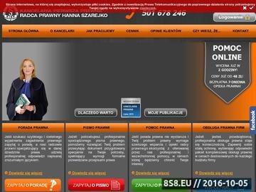 Zrzut strony Porady prawne online