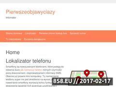 Miniaturka domeny www.pierwszeobjawyciazy.pl