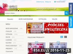 Miniaturka domeny pierzynka.pl