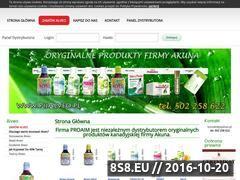 Miniaturka domeny www.pijalveo.pl