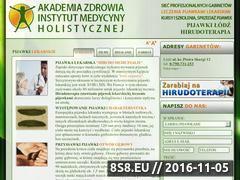 Miniaturka domeny pijawki.aloescentrum.pl