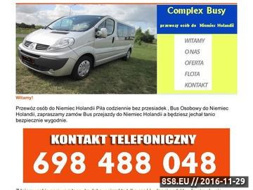 Zrzut strony Przewozy do Niemiec - Poznań