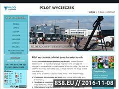 Miniaturka domeny www.piloci-wycieczek.pl