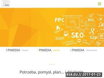 Zrzut strony Dom mediowy - Pimedia