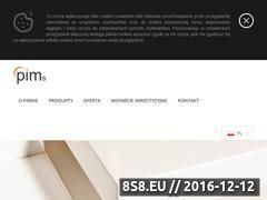 Miniaturka domeny www.pims.pl