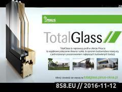 Miniaturka domeny www.pinus-okna.pl