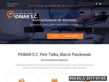 Zrzut strony Usługi księgowe Wrocław