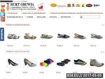 Zrzut strony Hurtownia Obuwia Piome