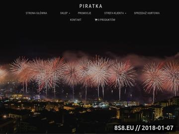 Zrzut strony Piratka.pl - Najlepszy sklep z fajerwerkami