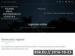 Miniaturka domeny pisanieprac-logistyka.pl