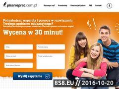 Miniaturka domeny pisanieprac.com.pl