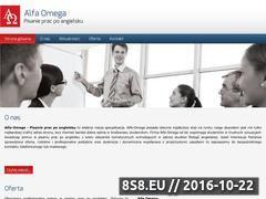 Miniaturka domeny www.pisaniepracpoangielsku.pl
