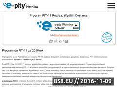 Miniaturka domeny www.pit-11.pl