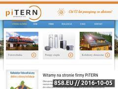 Miniaturka domeny www.pitern.pl