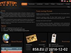 Miniaturka domeny www.pitstop-hostel.pl