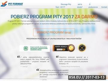 Zrzut strony Program Pity 2015