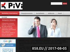 Miniaturka domeny www.pivi.eu