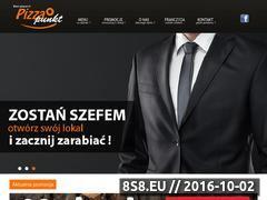 Miniaturka domeny www.pizzapunkt.pl