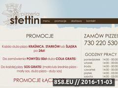 Miniaturka domeny www.pizzeriastettin.pl
