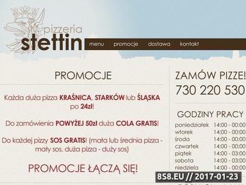 Zrzut strony Pizza nocna Szczecin