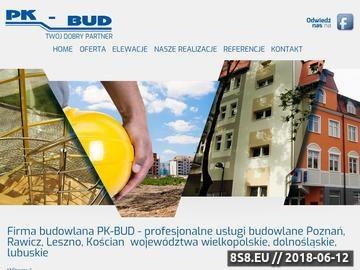 Zrzut strony Pk-Bud - usługi remontowe