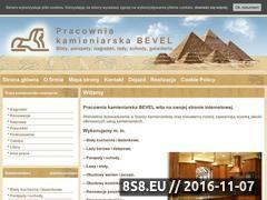 Miniaturka domeny www.pkbevel.pl