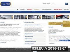 Miniaturka domeny www.pkmet.pl