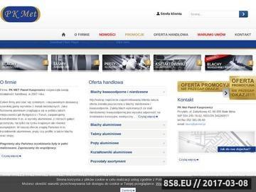 Zrzut strony Dostawca szerokiej gamy wyrobów z metali nieżelaznych